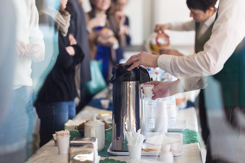 café - Le réseautage d'affaires