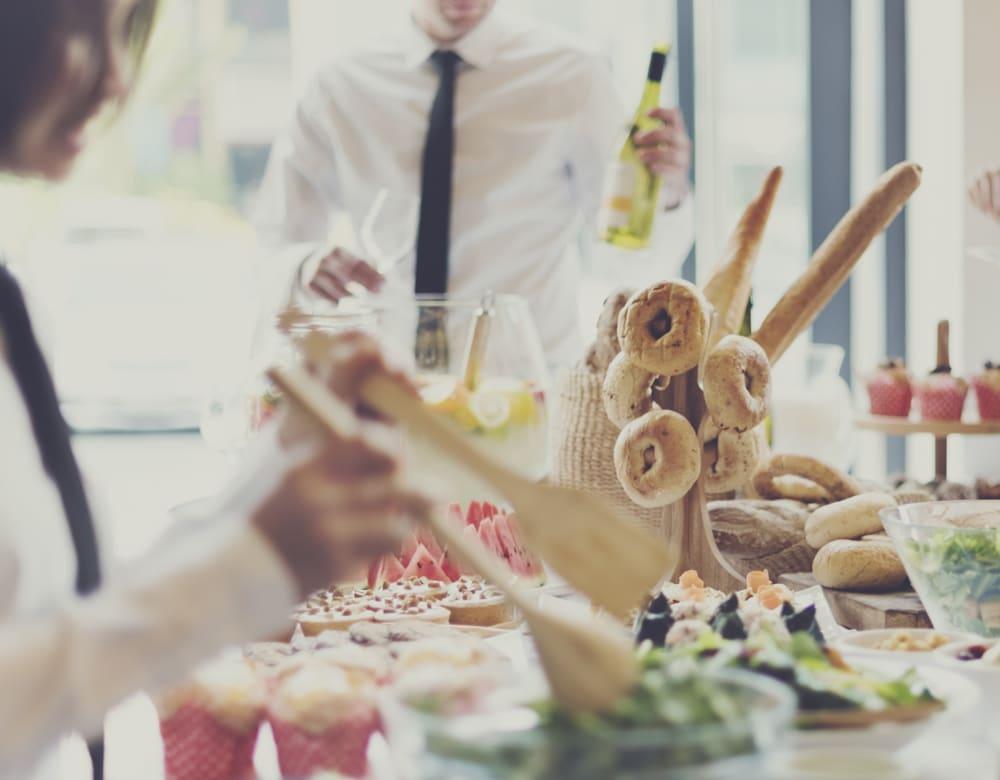 Petit déjeuner - Buffet